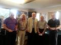 Alan Taggart, Kenny Hogg, Graham Lamont, Roy Parker, Peter Brooks.