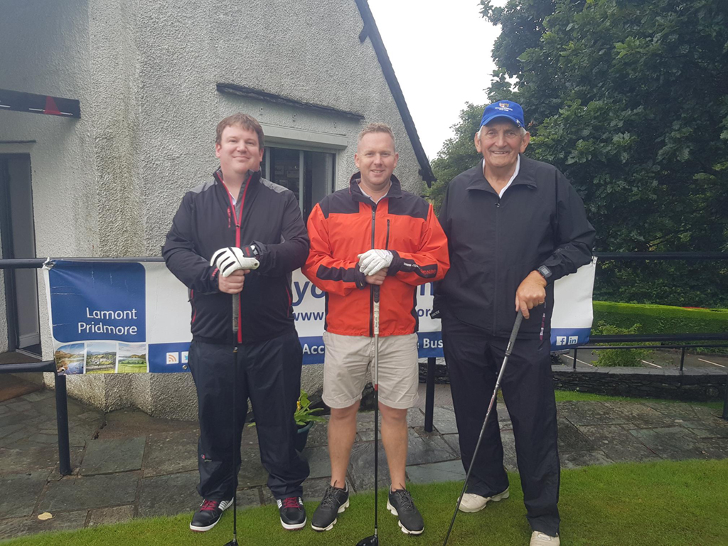 Team 1 - Mike Ramsbottom, Robert Wareing, Chris Peters