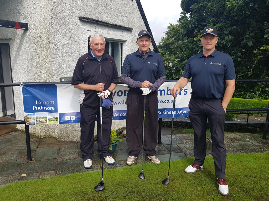 Team 2 - Peter Roberts, Jeff Fowler, Neil Fowler