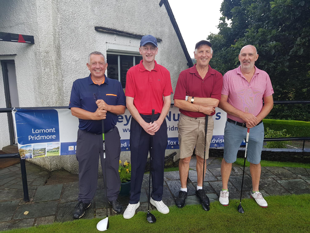 Team 3 - Mick Brown, Philip Pridmore, Mick Taylor, Cliff Harding