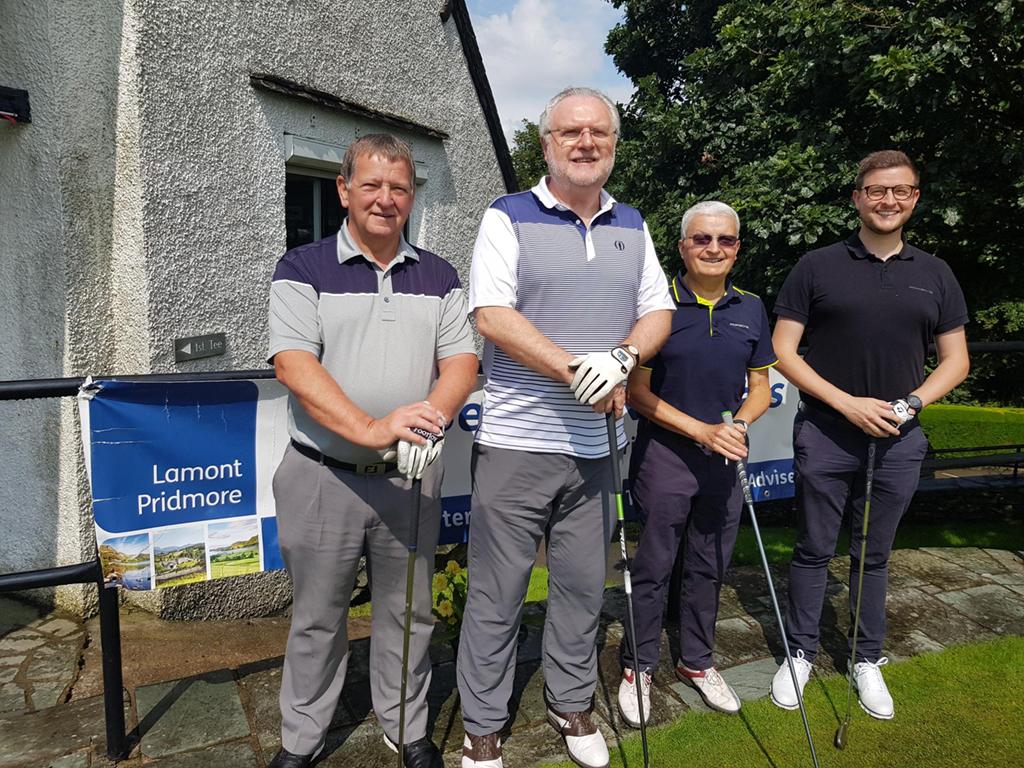 Team 6 - Adrian Drabble, Graham Lamont, Ian Parker, Simon Parker
