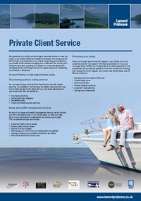 Private Client Service